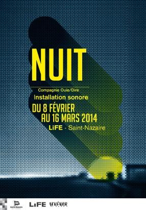 """""""NUIT"""" LiFE Ouie/Dire Athenor. Graphisme R. le Régent"""
